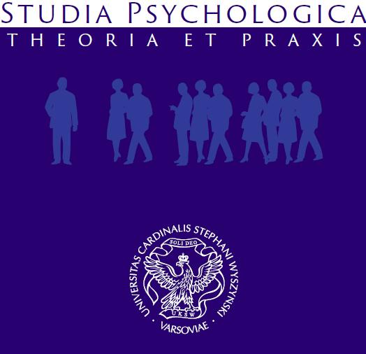 Studia Psychologica: Theoria et praxis